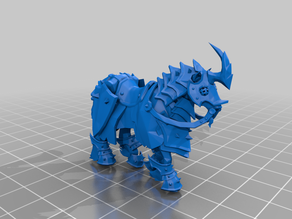Armoured horse - Alliance pvp mount, resized and smoothed