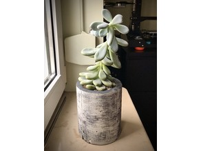 Cylindrical Planter Pot Mold for Casting