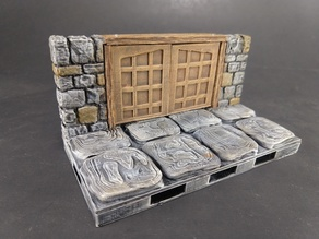 OpenForge 2.0 Dungeon Stone Square Doors