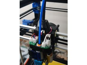 """Power distribution board for """"Hypercube Evolution Complete Hotend Assembly"""""""