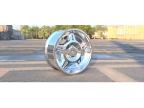 motorsport rim for 1/10 for BMW