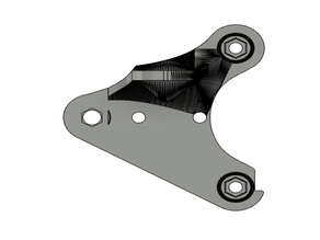 BeaverUP: Dual-Z X-carriage mount for CR-10, Tevo, Ender (REMAKE)