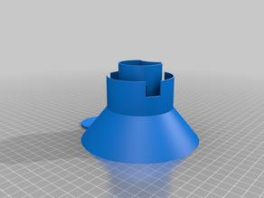Salt funnel for dishwasher