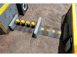 28mm Bollard Security Checkpoint