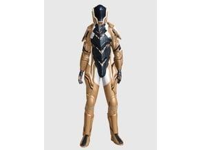 Terran Task force V6 - Version Homme, Femme et Gorn