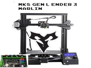 Ender 3 Marlin 2.0 MKS Gen-L