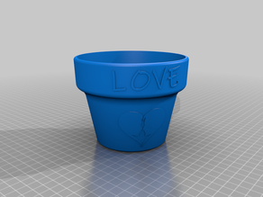 Love Flower Pot