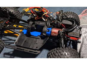 Scx10 ii Transmission and Motor Flip Mounts