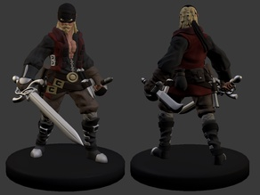Dread Pirate Bob Miniature