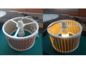 Modern Wooden Lamp