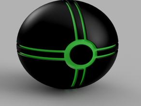 Sphere 2 line quad