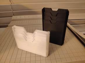 TPU Slim wallet with bigger finger cutouts
