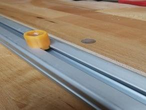 fixing bolt aluminium rail