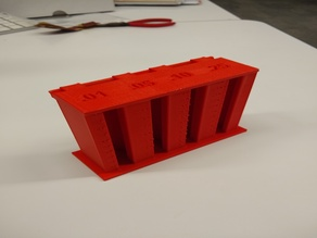 Coin Holder with Flip Top