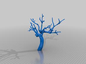 Low Poly Scatter Tree Terrain