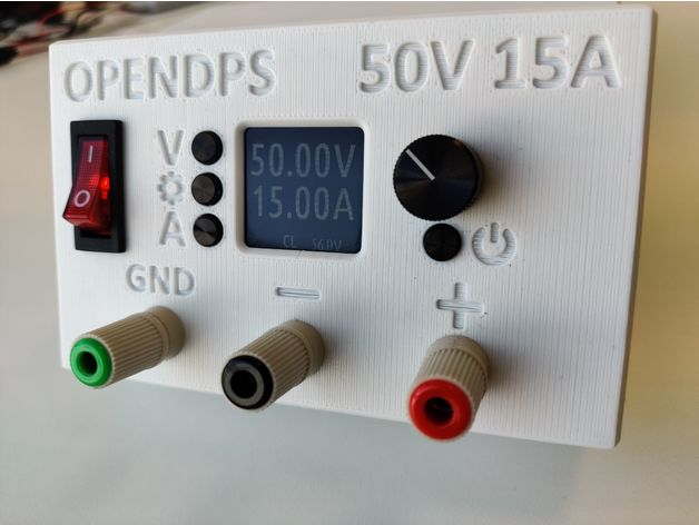 DPS 5015 case, bench power supply by polihedron