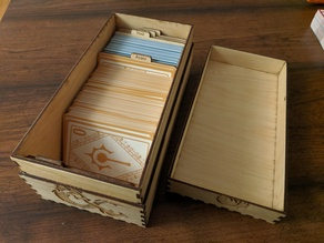 D&D Laser Cut Spell Cards Small Box