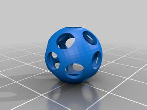 FlexBall (printed with NinjaFlex)