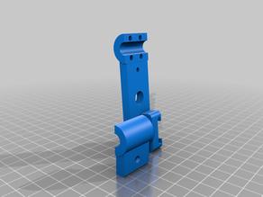 Hotshoe for 8 mm aluminium pipe