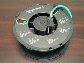 Extension Cord Reel from Spool