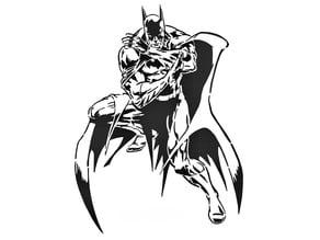 Batman stencil 4