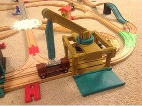 Crane (Wooden Train/Brio/Thomas Compatible)