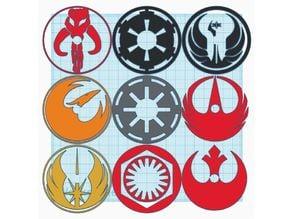 Star Wars Bin Wheel Covers