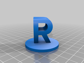 My Customized Dual Letter Blocks Illusion
