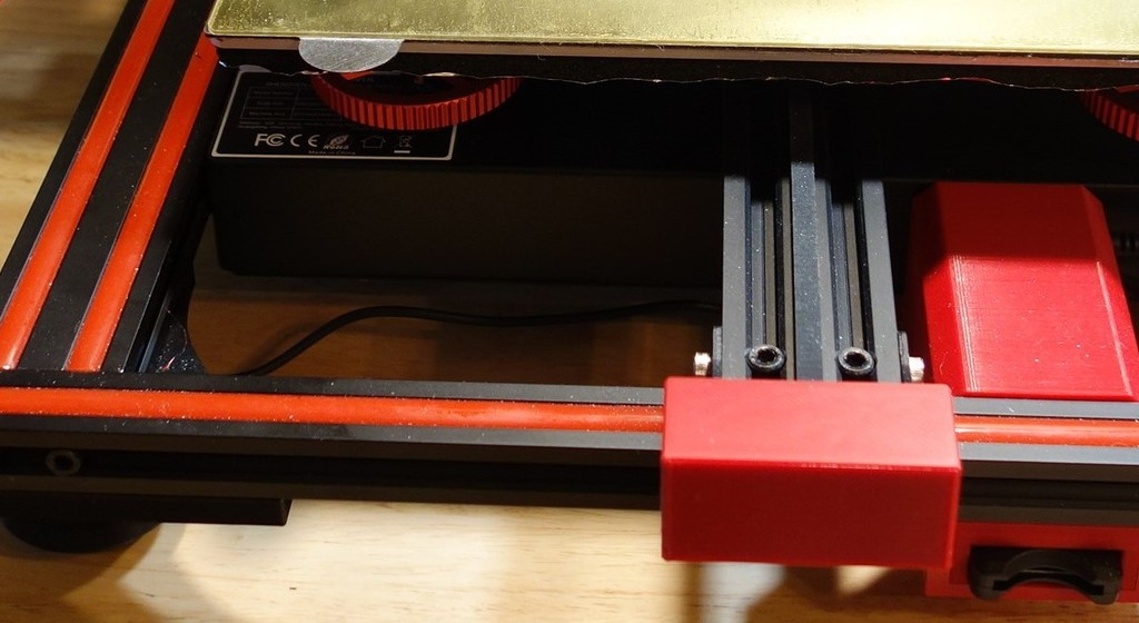 Sovol SV01 and CR10 - Y axis end bearing cover