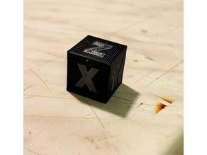 Cube dual color