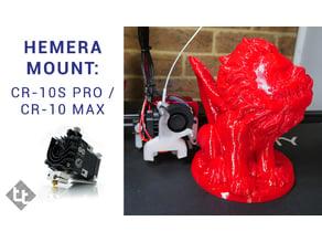 CR-10S Pro / CR-10 Max Hemera adaptor