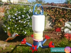 bebedero colibrí, hummingbird feeder