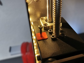 Anycubic i3 Mega z-level screw and endstop fix