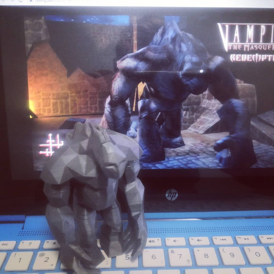 Golem Maqqabah in Vampire The Masquerade Redemption v. 2.0