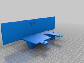 Voron V0 half back panel