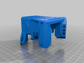 BLV 3D-printer part: modified block shield for BMG extruder