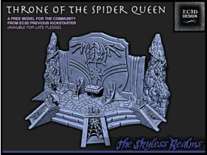 Throne of the Spider Queen - 28mm Gaming - Depths of Savage Atoll