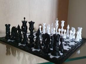 Piezas de ajedrez Lexusus