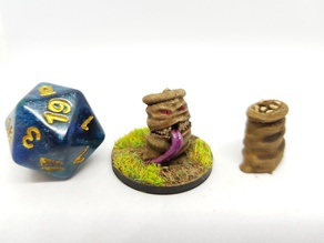 Mimic (Sack of Potatoes) for 28mm Tabletop roleplaying
