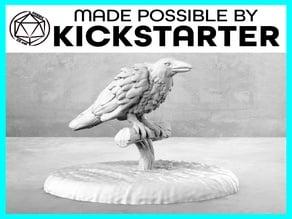 Raven - Casual Pose - Tabletop Miniature