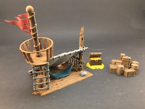 Survivor's Lean-to for 28mm miniatures gaming