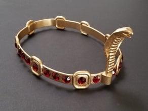 Egyptian Crown - Headpiece - Cobra