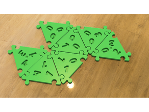 Triomino Extra Tiles for 6 Players