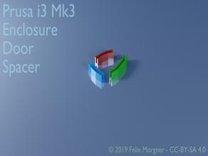 Prusa i3 Mk3 Enclosure Door Spacer