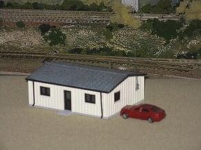 HO Scale Yard Office