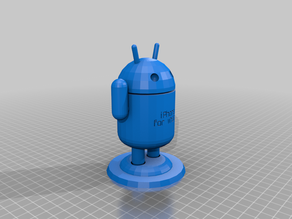 My Customized Android Guy with Text