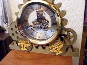 STEAMPUNK RACK CLOCK