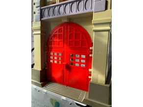 Real Ghostbusters Firehouse HQ Doors