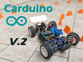 Carduino V2 (The Arduino based RC car)