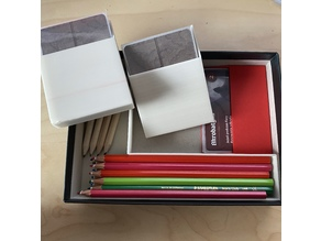 Cartographers - Insert for sleeved cards plus extra colored pencils